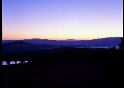 umbrian sunrise