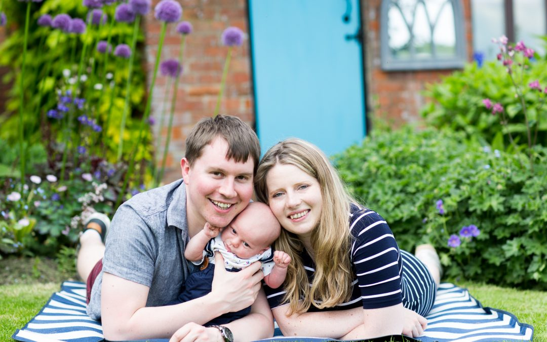 Family Portraiture – Tom & Helen with Isaac